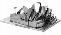 Металлический конструктор Сиднейская Опера 3 пластины