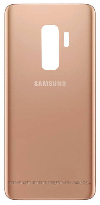 Задняя часть корпуса Samsung Galaxy S9 Plus / G965 Sunrise Gold