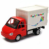 Іграшкова Машинка автопром «Вантажівка. Країна іграшок» (світло, звук, пластик), 20х7х11 см (7660-6), фото 2