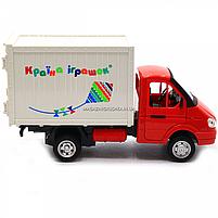 Іграшкова Машинка автопром «Вантажівка. Країна іграшок» (світло, звук, пластик), 20х7х11 см (7660-6), фото 4