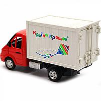 Іграшкова Машинка автопром «Вантажівка. Країна іграшок» (світло, звук, пластик), 20х7х11 см (7660-6), фото 5