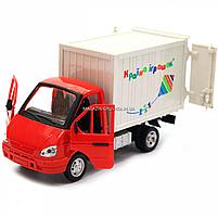 Машинка игрушечная автопром «Грузовик. Країна іграшок» (свет, звук, пластик), 20х7х11 см (7660-6), фото 6