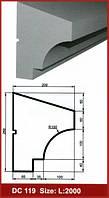Фасадный подоконник DС 119 Prestige decor