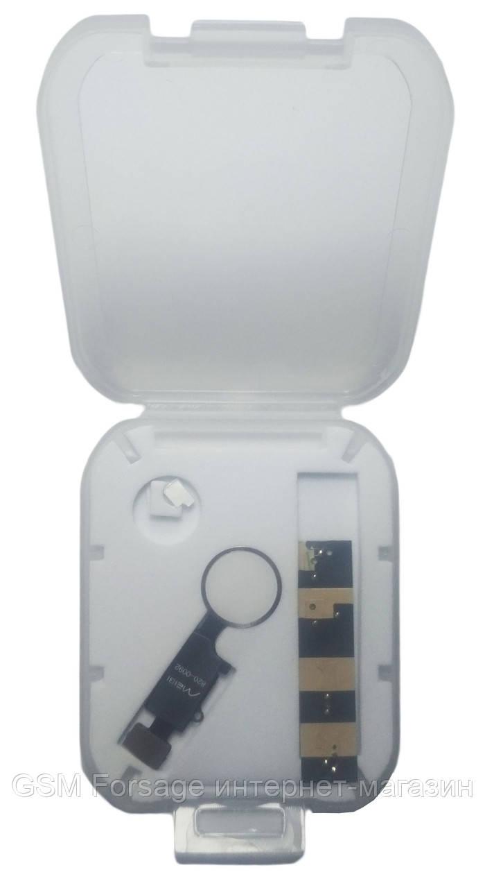 Шлейф iPhone 7 / iPhone 7 Plus / iPhone 8 / iPhone 8 Plus кнопка Home White (Bluetooth)