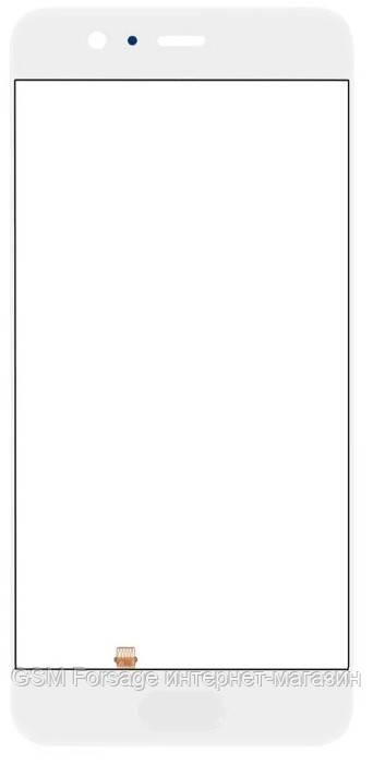 Стекло дисплея Huawei P10 Plus (VKY-L29) White со сканером отпечатка пальца (для переклейки)