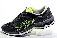 Беговые кроссовки в стиле Asics Gel Kayano 28, Gray\Black\Lime