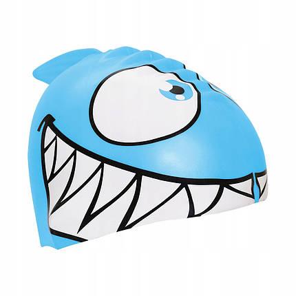 Шапочка для плавания детская SportVida SV-DN0017JR Blue, фото 2
