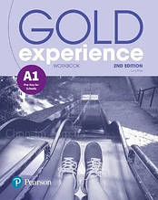 Gold Experience 2nd Edition A1 Workbook / Pearson - Рабочая тетрадь