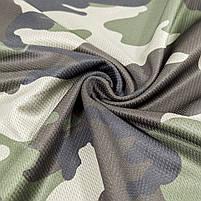 Тактический гольф с длинным рукавом Lesko A659 Camouflage XL мужская водолазка для полиции спецподразделений, фото 4