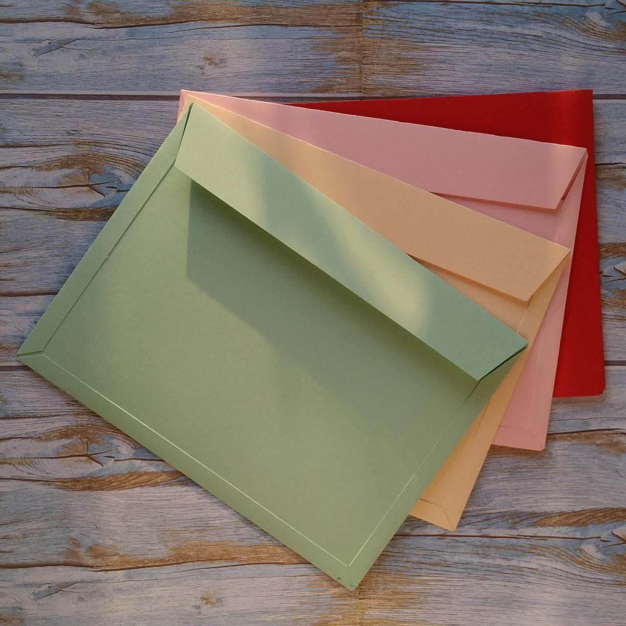 Конверт картонный А5+ для подарочного сертификата
