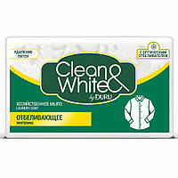 Хозяйственное мыло DURU Clean White Отбеливающее, 125 г