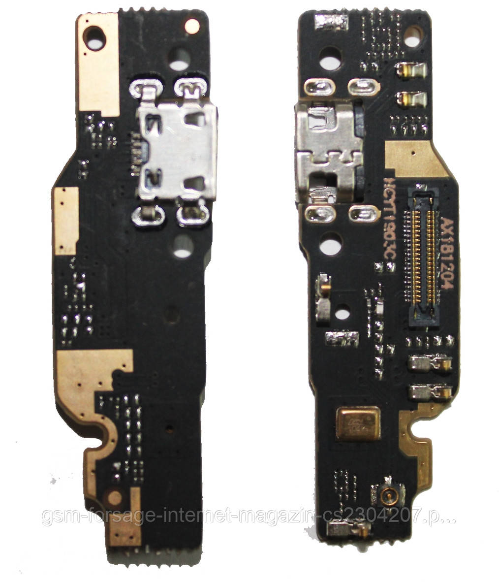 Разъем зарядки Xiaomi Redmi Note 6 Pro (с платкой)