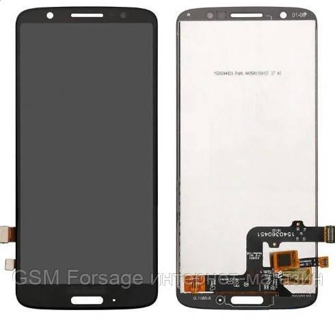 Дисплей Motorola Moto G6 XT1925 complete with touch Black