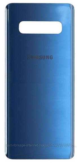 Задняя часть корпуса Samsung Galaxy S10 Plus SM-G975 Blue