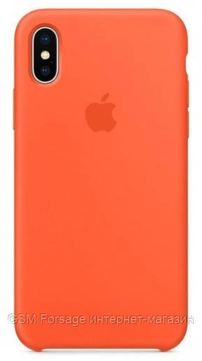 Чехол (Silicone Case) для iPhone XS Max Orange