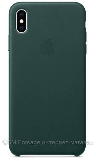 Чехол (Silicone Case) для iPhone XS Max Green