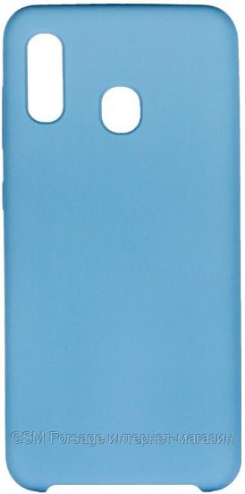 Чехол для Samsung M30 SM-305 Blue