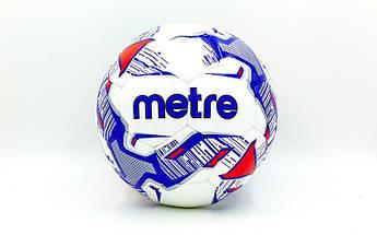 Мяч футбольный №5 PU ламин. (№5, 5 сл., сшит вручную) PZ-FB-0016-MIX