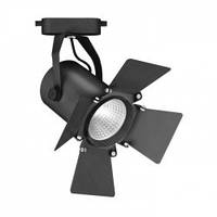 Светодиодный трековый светильник Feron AL110 COB 20W 4000K 1800Lm  черный