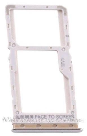 Сим держатель Xiaomi Mi A3 Silver