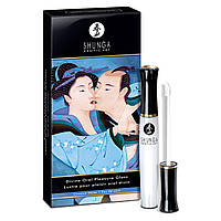 Блеск для губ Shunga LIPGLOSS - Coconut Water (10 мл) для орального секса