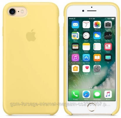 Чехол (Silicone Case) для iPhone 7 / iPhone 8 Original Pollen