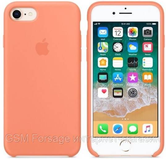 Чехол (Silicone Case) для iPhone 7 / iPhone 8 Original Peach