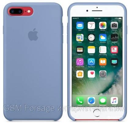 Чехол (Silicone Case) для iPhone 7 Plus / iPhone 8 Plus Original Ocean Blue