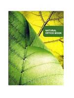 Тетрадь офисная А4 176 листов, соч. обложка, линия, Серия Натурал 136318