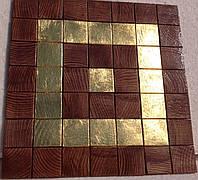 Золоченая деревянная мозаика Oro Foresta