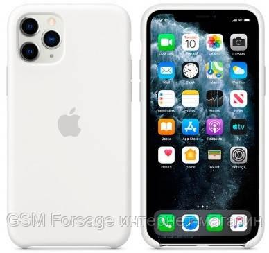 Чехол (Silicone Case) для iPhone 11 Pro Original White