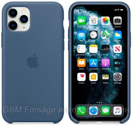 Чехол (Silicone Case) для iPhone 11 Pro Original Alaskan Blue