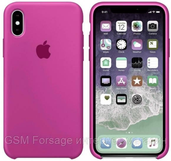 Чехол (Silicone Case) для iPhone X / iPhone XS Original Dragon Fruit