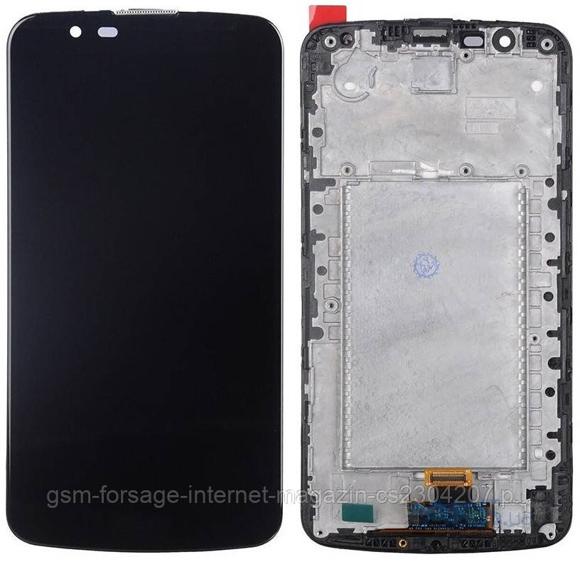 Дисплей LG K10 K410 / K420 / K430 complete with FRAME Black