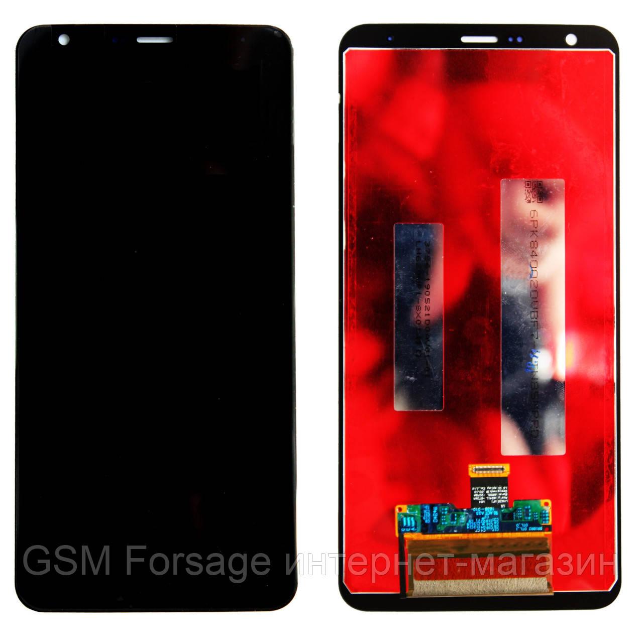 Дисплей LG Q8 2018 complete Black