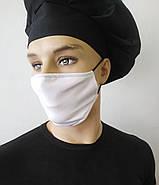 Маски захисні за Собівартістю виробництва Багаторазові, маска на 2 шари, фото 2