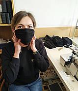 Маски захисні за Собівартістю виробництва Багаторазові, маска на 2 шари, фото 7