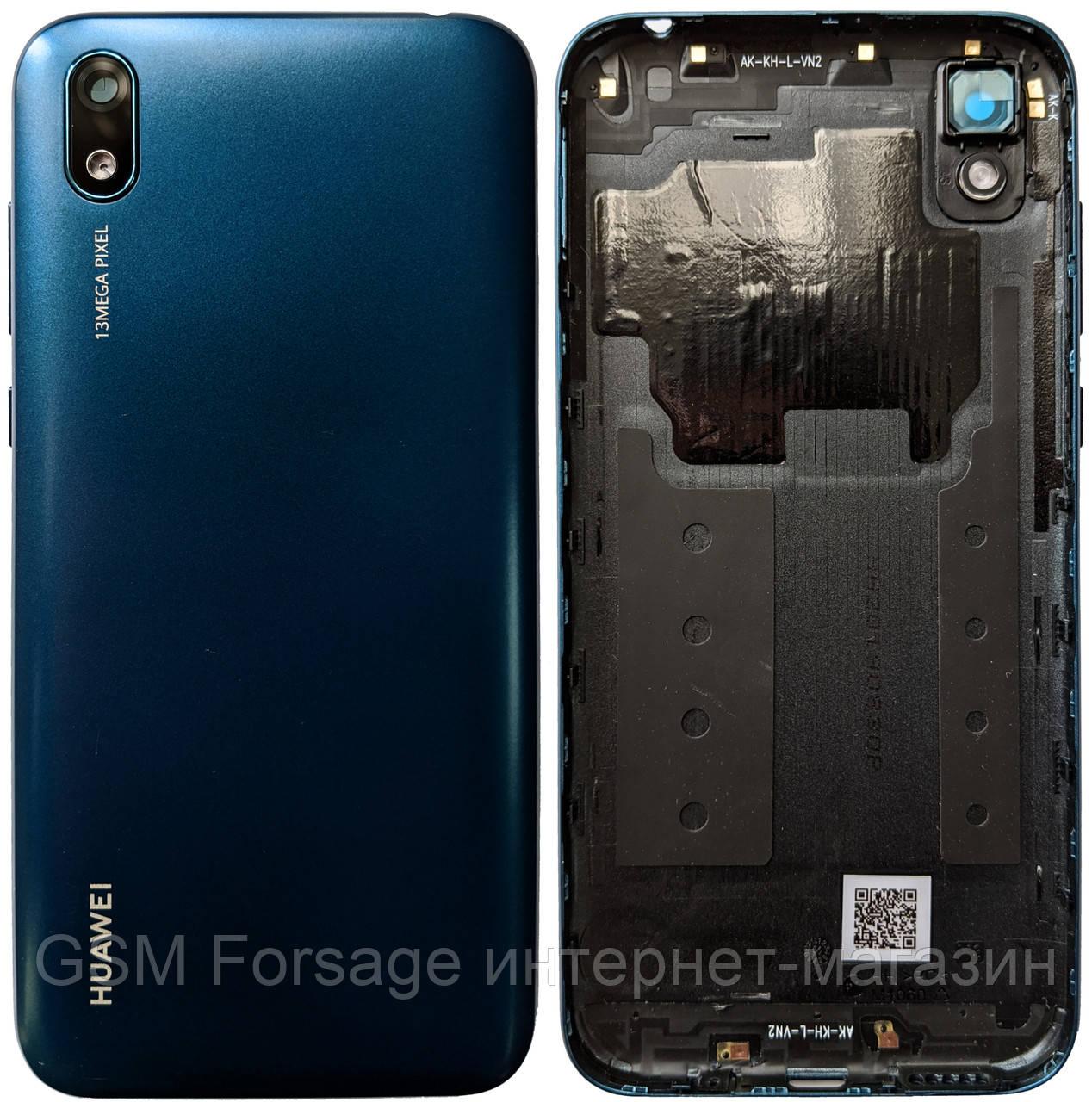 Задняя часть корпуса Huawei Y5 2019 Blue