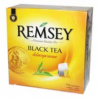 Черний чай Remsey Black Tea 75 пакетиков