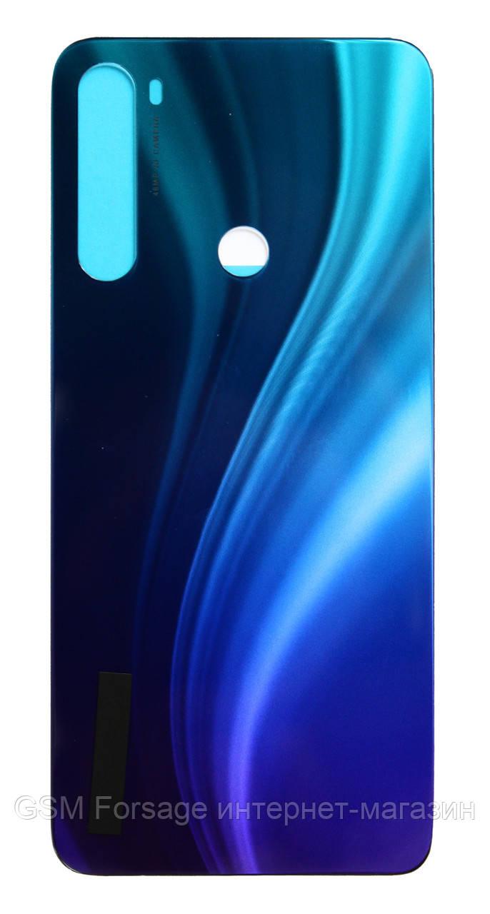 Задняя часть корпуса Xiaomi Redmi Note 8 Blue