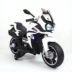 Детский мотоцикл T-7227, белый