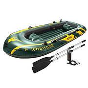 Лодка надувная Intex Seahawk (+) 338*127*50 IN-68351