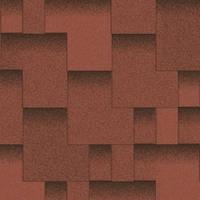 Битумная черепица «АКВАИЗОЛ» Акцент Спелый гранат (красный+чёрный)