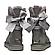 Женские угги UGG CUSTOMIZABLE BAILEY Bow Short Boot 1098075-GR, фото 3