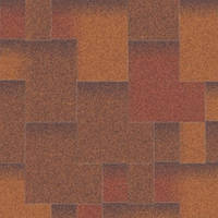 Битумная черепица «АКВАИЗОЛ» Акцент Виски (коричневый + антик + красный + серый + чёрный)