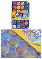 Краски акварельные большие таблетки 28 цветов COLORINO (67317PTR)