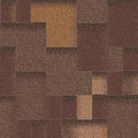 Битумная черепица «АКВАИЗОЛ» Акцент Горячий шоколад (коричневый + антик + чёрный + серый)