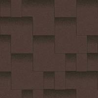 Битумная черепица «АКВАИЗОЛ» Акцент Горный каньон (коричневый + чёрная тень)