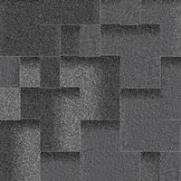 Битумная черепица «АКВАИЗОЛ» Акцент Маренго (чёрный + чёрно синий + темно-серый)!
