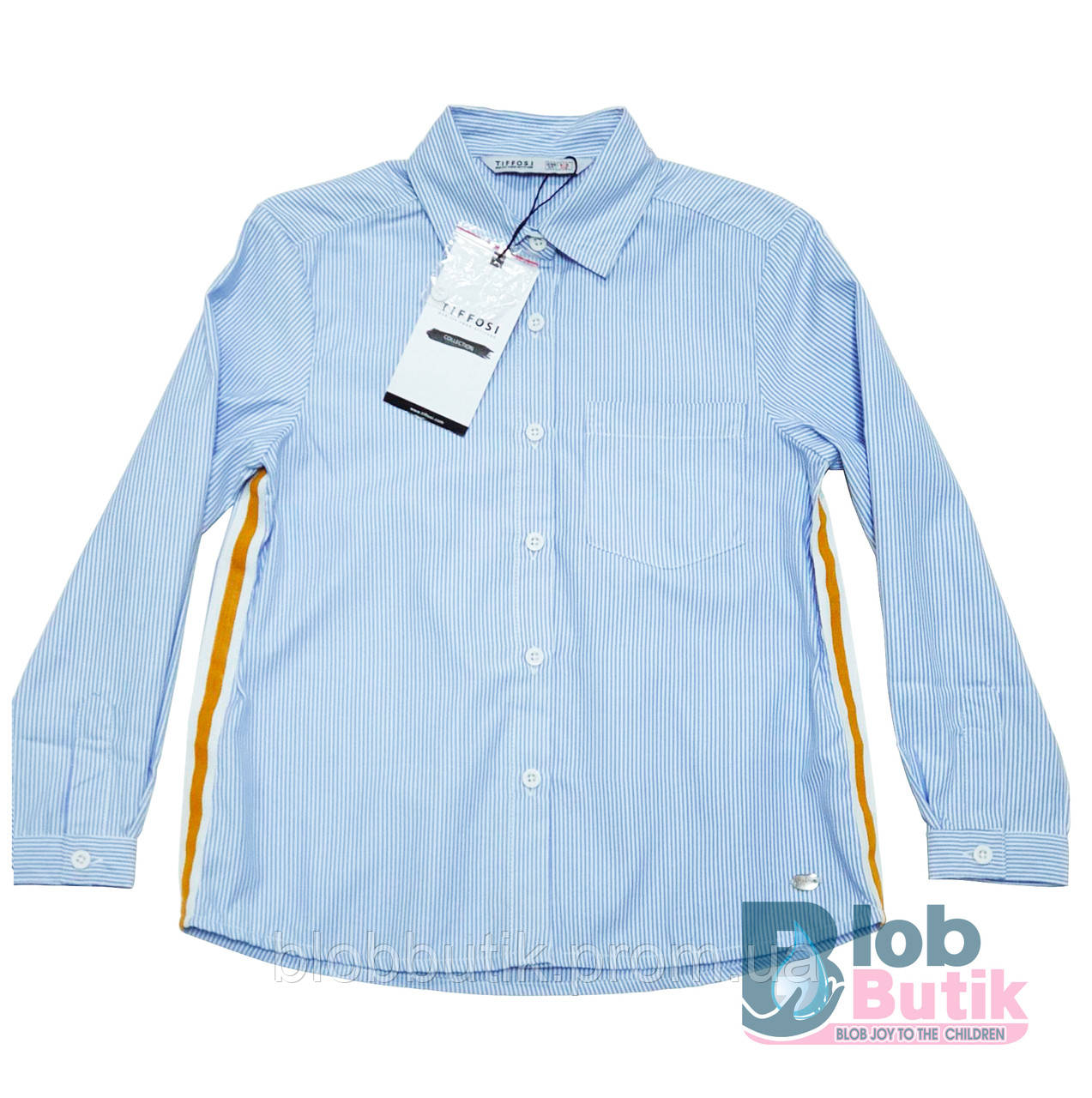 Сорочка блакитна для дівчинки Tiffosi.